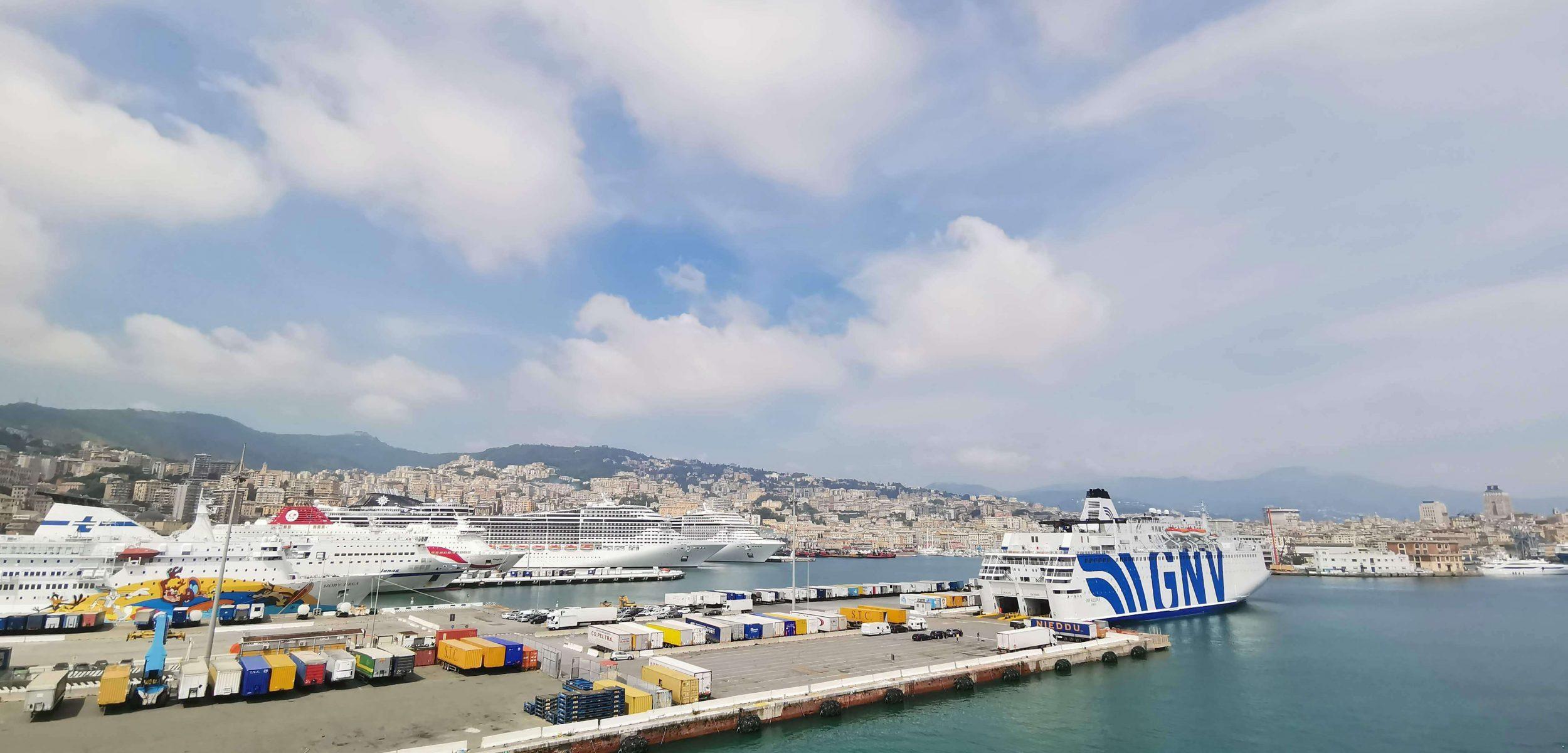 Hafen von Genua